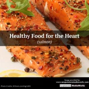 heart salmon