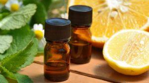 lemon and peppermint oils